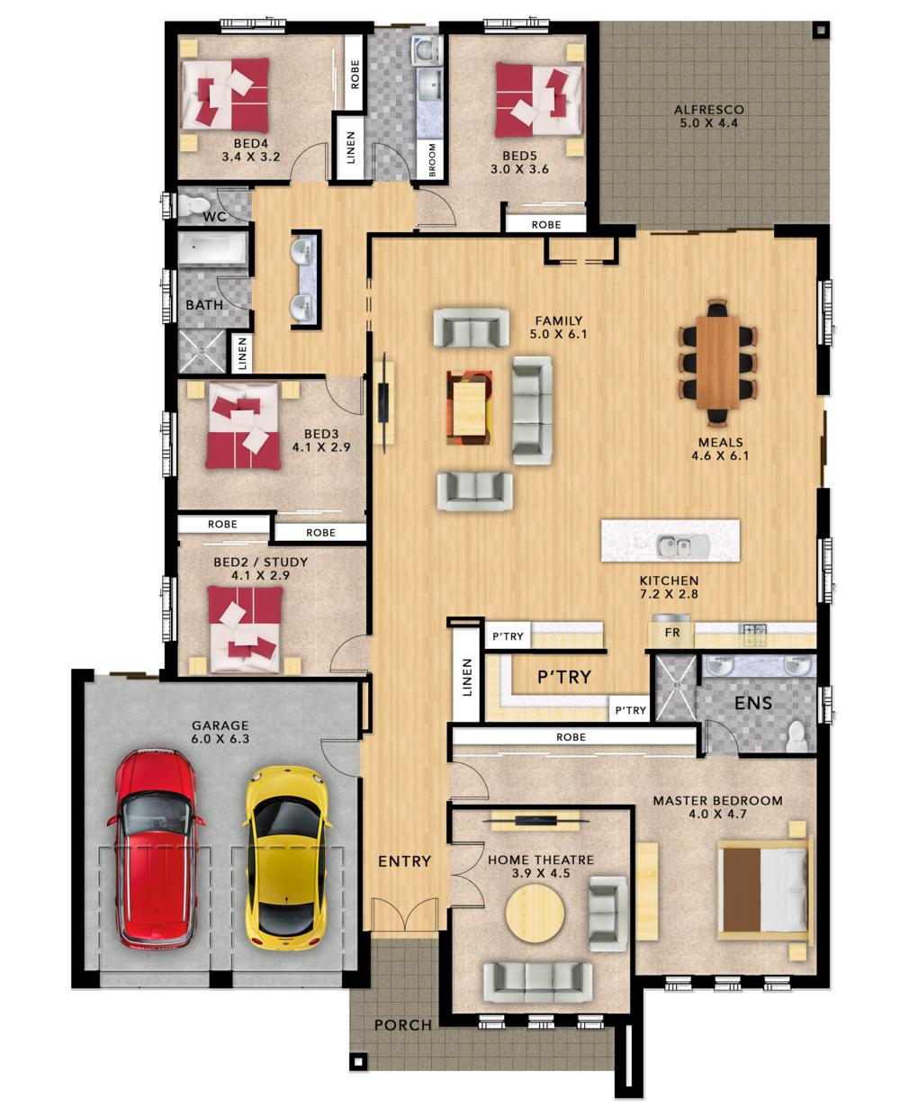 Montana Brochure Floorplan 002 Eden Wells